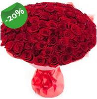 Özel mi Özel buket 101 adet kırmızı gül  Bilecik çiçekçi anneler günü çiçek yolla