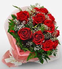 12 adet kırmızı güllerden kaliteli gül  Bilecik çiçekçi çiçek siparişi vermek
