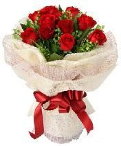 12 adet kırmızı gül buketi  Bilecik çiçekçi anneler günü çiçek yolla