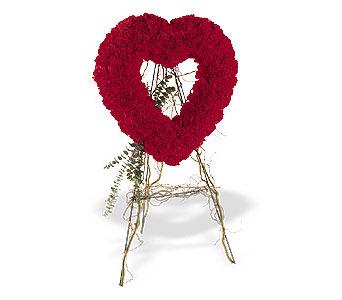 Bilecik çiçekçi internetten çiçek satışı  karanfillerden kalp pano