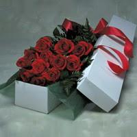 Bilecik çiçekçi online çiçek gönderme sipariş  11 adet gülden kutu