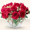 Bilecik çiçekçi çiçek online çiçek siparişi  mika yada cam içerisinde 10 gül - sevenler için ideal seçim -