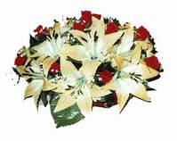 yapay karisik çiçek sepeti   Bilecik çiçekçi internetten çiçek siparişi