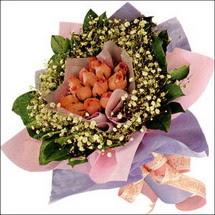 11  adet  gül ve   elyaflar   Bilecik çiçekçi çiçekçi mağazası