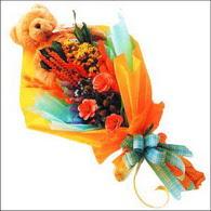 ayicik gül ve kir çiçekleri   Bilecik çiçekçi çiçekçi mağazası