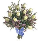 bir düzine beyaz gül buketi   Bilecik çiçekçi çiçek gönderme sitemiz güvenlidir
