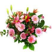 lilyum ve gerbera çiçekleri - çiçek seçimi -  Bilecik çiçekçi çiçek gönderme
