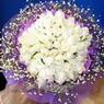 71 adet beyaz gül buketi   Bilecik çiçekçi çiçek , çiçekçi , çiçekçilik