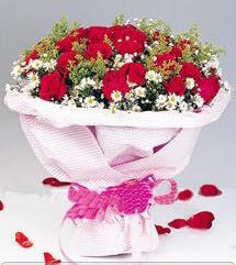 Bilecik çiçekçi internetten çiçek satışı  12 ADET KIRMIZI GÜL BUKETI