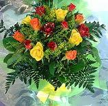 13 adet karisik gül buketi demeti   Bilecik çiçekçi uluslararası çiçek gönderme
