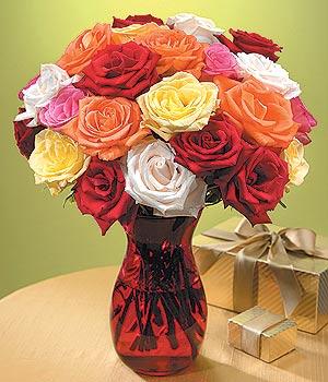 Bilecik çiçekçi anneler günü çiçek yolla  13 adet renkli gül