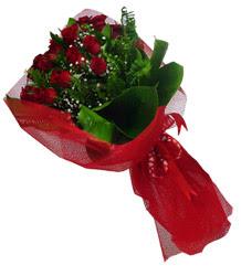 Bilecik çiçekçi çiçek gönderme sitemiz güvenlidir  10 adet kirmizi gül demeti