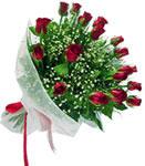 Bilecik çiçekçi internetten çiçek satışı  11 adet kirmizi gül buketi sade ve hos sevenler
