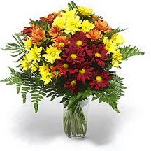 Bilecik çiçekçi çiçek siparişi sitesi  Karisik çiçeklerden mevsim vazosu