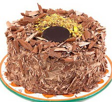 çikolatali 4 ile 6 kisilik yas pasta  Bilecik çiçekçi çiçek servisi , çiçekçi adresleri
