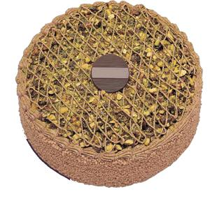 Krokanli 4 ile 6 kisilik yas pasta leziz  Bilecik çiçekçi çiçek gönderme