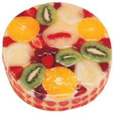 Meyvali 4 ile 6 kisilik yas pasta leziz  Bilecik çiçekçi hediye çiçek yolla