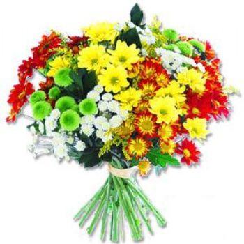 Kir çiçeklerinden buket modeli  Bilecik çiçekçi online çiçek gönderme sipariş