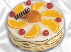 lezzetli pasta satisi 4 ile 6 kisilik yas pasta portakalli pasta  Bilecik çiçekçi çiçekçi mağazası