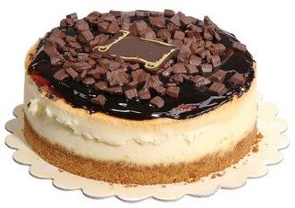 pasta yolla 4 ile 6 kisilik çikolatali yas pasta  Bilecik çiçekçi online çiçek gönderme sipariş