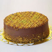 sanatsal pastaci 4 ile 6 kisilik krokan çikolatali yas pasta  Bilecik çiçekçi cicek , cicekci