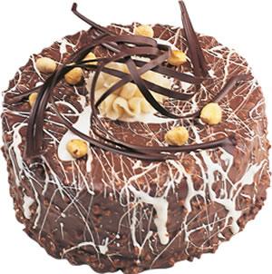 pasta satisi 4 ile 6 kisilik çikolatali yas pasta  Bilecik çiçekçi İnternetten çiçek siparişi