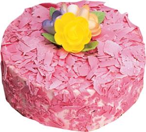 pasta siparisi 4 ile 6 kisilik framboazli yas pasta  Bilecik çiçekçi çiçek yolla