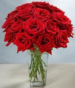Bilecik çiçekçi çiçek siparişi sitesi  Sevdiklerinize özel ürün 12 adet cam içerisinde kirmizi gül  Bilecik çiçekçi hediye çiçek yolla
