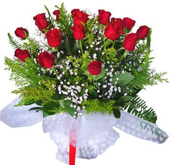 11 adet gösterisli kirmizi gül buketi  Bilecik çiçekçi internetten çiçek satışı