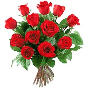 11 adet bakara kirmizi gül buketi  Bilecik çiçekçi güvenli kaliteli hızlı çiçek