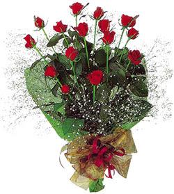 11 adet kirmizi gül buketi özel hediyelik  Bilecik çiçekçi çiçekçi mağazası