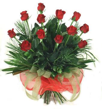 Çiçek yolla 12 adet kirmizi gül buketi  Bilecik çiçekçi güvenli kaliteli hızlı çiçek