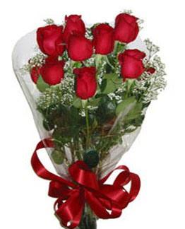 Çiçek sade gül buketi 7 güllü buket  Bilecik çiçekçi online çiçek gönderme sipariş