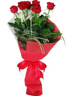 7 adet kirmizi gül buketi  Bilecik çiçekçi çiçek yolla , çiçek gönder , çiçekçi
