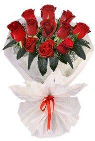 11 adet gül buketi  Bilecik çiçekçi internetten çiçek siparişi  kirmizi gül