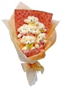 12 adet ayiciktan buket  Bilecik çiçekçi çiçek siparişi sitesi