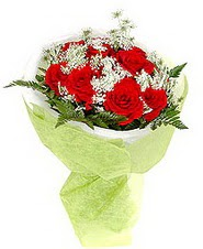Bilecik çiçekçi çiçek , çiçekçi , çiçekçilik  7 adet kirmizi gül buketi tanzimi