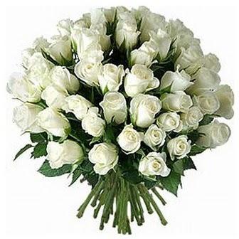 Bilecik çiçekçi çiçek servisi , çiçekçi adresleri  33 adet beyaz gül buketi