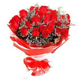 Bilecik çiçekçi çiçek mağazası , çiçekçi adresleri  12 adet kırmızı güllerden görsel buket