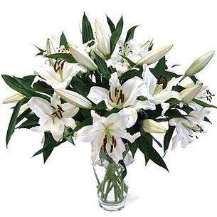 Bilecik çiçekçi çiçekçi telefonları  3 dal görsel casablanca vazo tanzimi