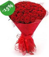 51 adet kırmızı gül buketi özel hissedenlere  Bilecik çiçekçi çiçek siparişi sitesi