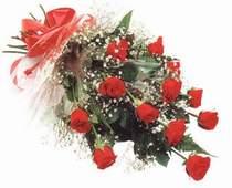 Bilecik çiçekçi çiçek , çiçekçi , çiçekçilik  12 adet kirmizi gül seffaf