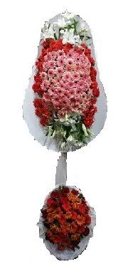 çift katlı düğün açılış sepeti  Bilecik çiçekçi internetten çiçek satışı