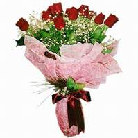Bilecik çiçekçi çiçek siparişi sitesi  12 adet kirmizi kalite gül