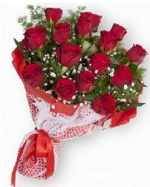 11 kırmızı gülden buket  Bilecik çiçekçi güvenli kaliteli hızlı çiçek