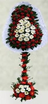 Bilecik çiçekçi internetten çiçek satışı  çift katlı düğün açılış çiçeği
