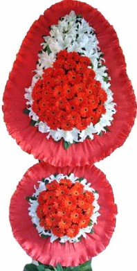 Bilecik çiçekçi online çiçek gönderme sipariş  Çift katlı kaliteli düğün açılış sepeti