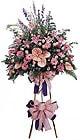Bilecik çiçekçi güvenli kaliteli hızlı çiçek   Ferforje Pembe kazablanka