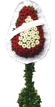 Çift katlı düğün nikah açılış çiçek modeli  Bilecik çiçekçi İnternetten çiçek siparişi