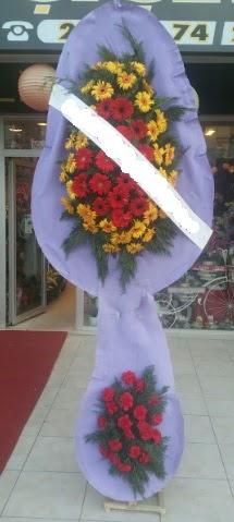 Çift katlı nikah düğüne çiçek modeli  Bilecik çiçekçi internetten çiçek siparişi